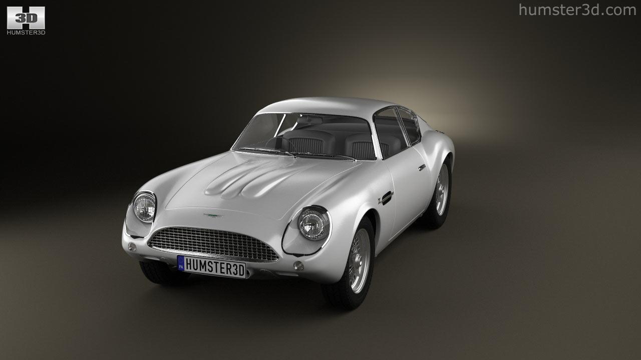 All Types aston db4 zagato : 360 view of Aston Martin DB4 GT Zagato 1960 3D model - Hum3D store