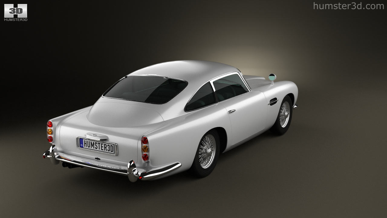 360 View Of Aston Martin DB5 1963 3D Model   Hum3D Store