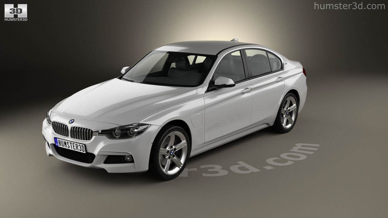 360 View Of Bmw 3 Series F30 E 2016 3d Model Hum3d Store