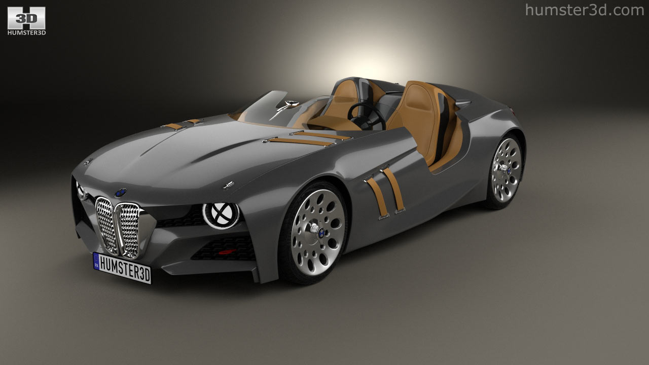 360 view of BMW 328 Hommage 2011 3D model - Hum3D store