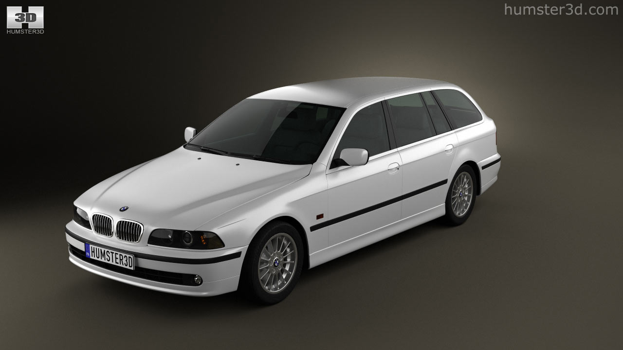 360 View Of Bmw 5 Series E39 Touring 1995 2003 3d Model Hum3d Store
