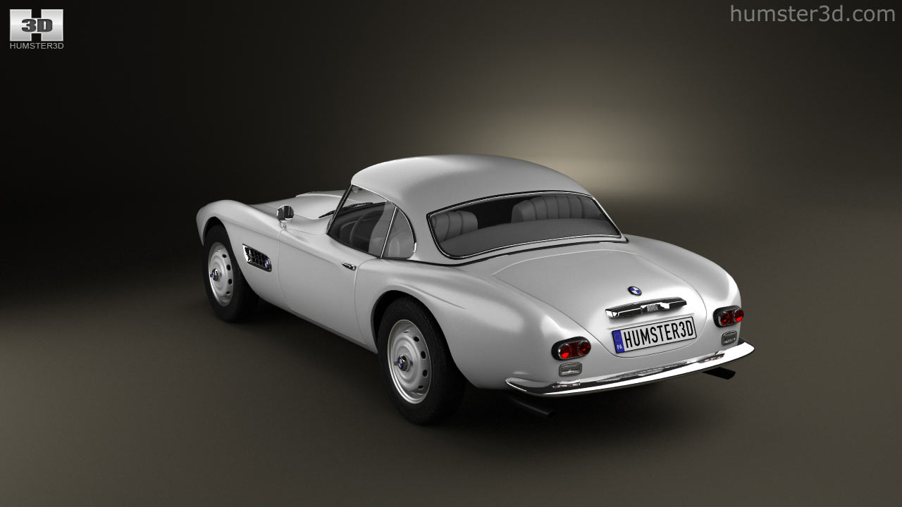 360 View Of BMW 507 Coupe 1959 3D Model   Hum3D Store