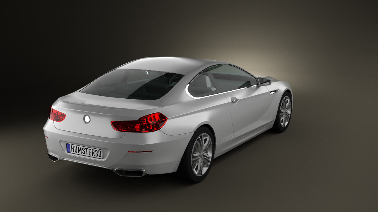360 view of BMW 6 Series Coupe Concept 2010 3D model - Hum3D store