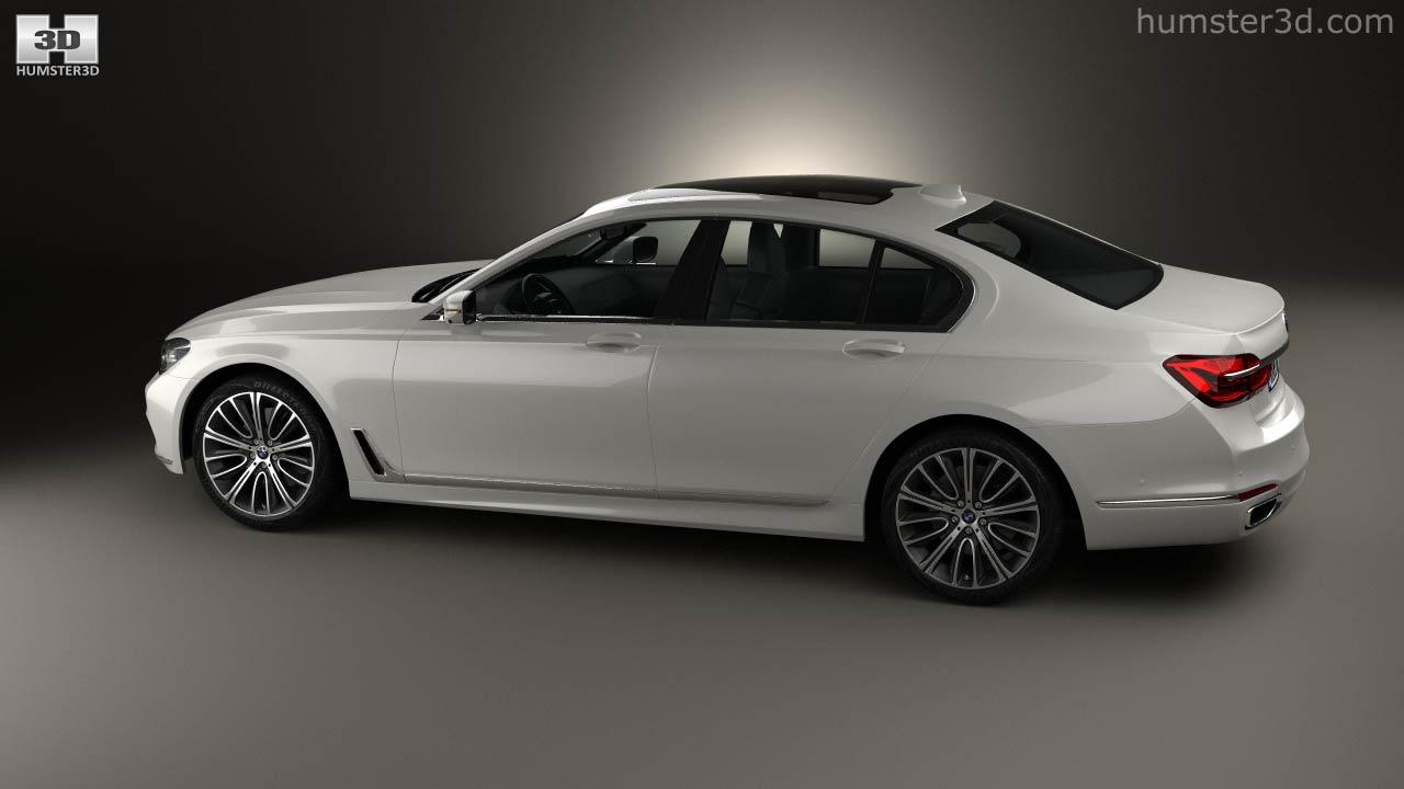 BMW 7 Series G11 2015 3d Model