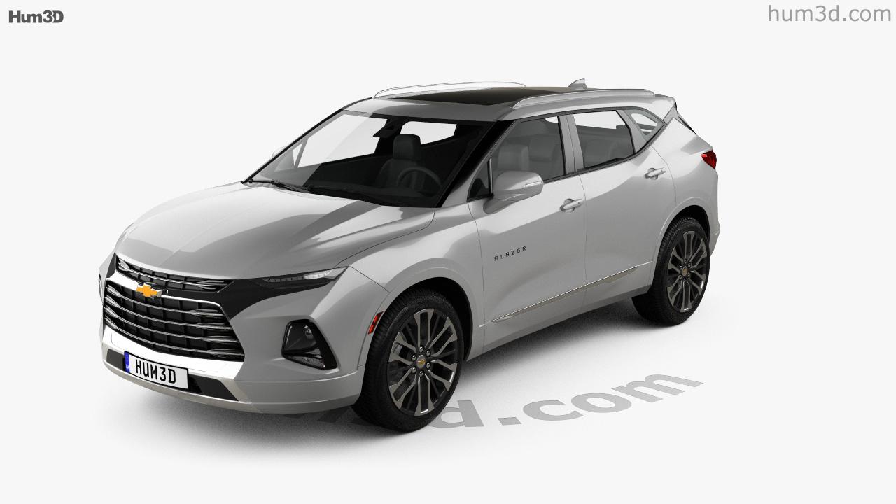 360 View Of Chevrolet Blazer Premier 2019 3d Model Hum3d Store