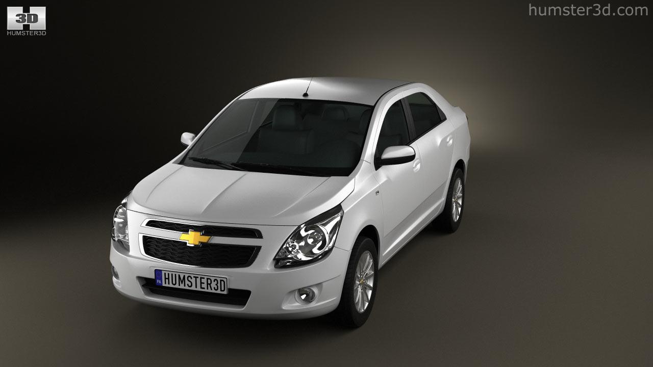 360 view of Chevrolet Cobalt 2012 3D model  Hum3D store