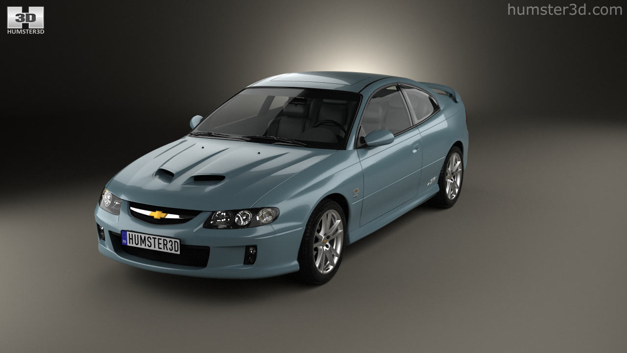 360 view of Chevrolet Lumina SS Coupe 2002 3D model  Hum3D store