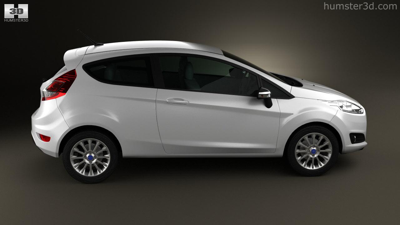Ford Fiesta hatchback 3-door (EU) 2013 3d model & 360 view of Ford Fiesta hatchback 3-door (EU) 2013 3D model ... Pezcame.Com