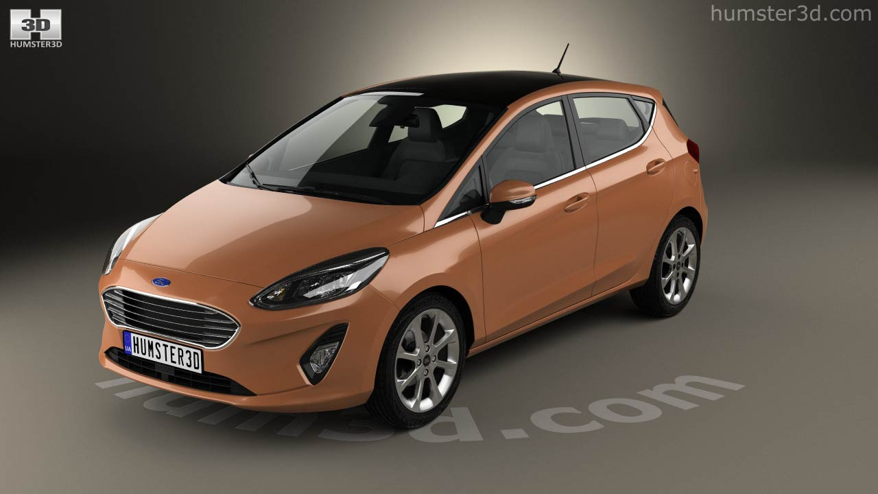 ford fiesta titanium 2017 idea de imagen del coche. Black Bedroom Furniture Sets. Home Design Ideas