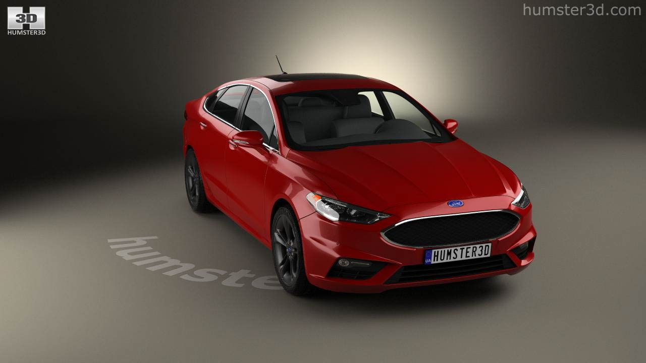 Ford Fusion Mondeo Sport 2015 3d Model