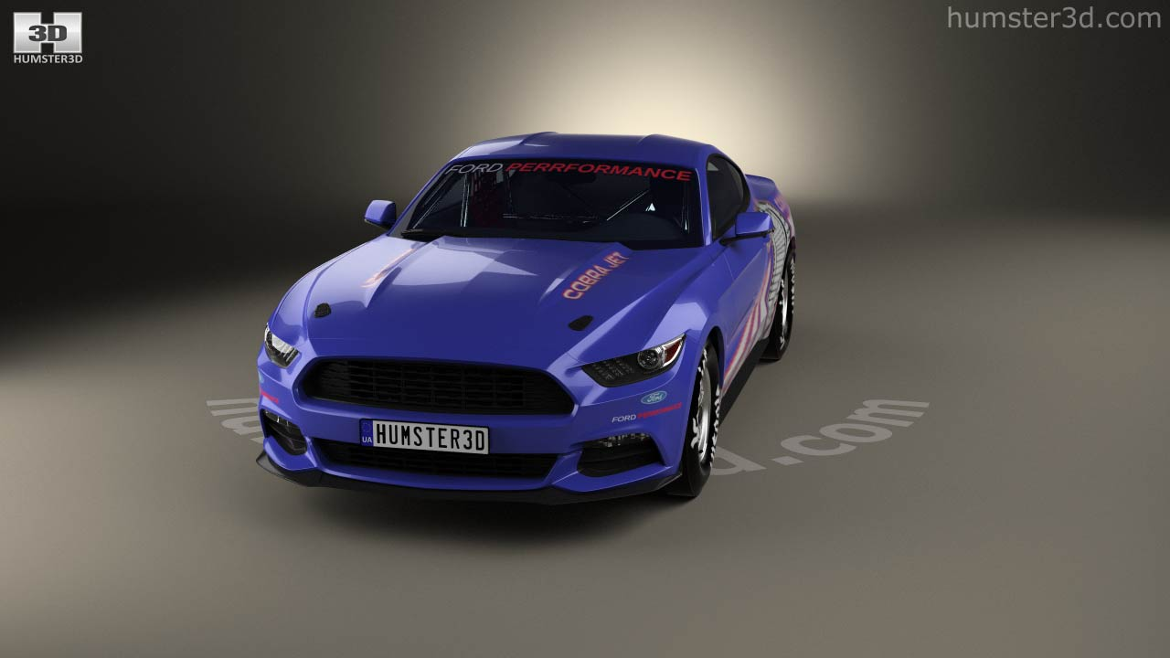 360 View Of Ford Mustang Cobra Jet 2016 3D Model