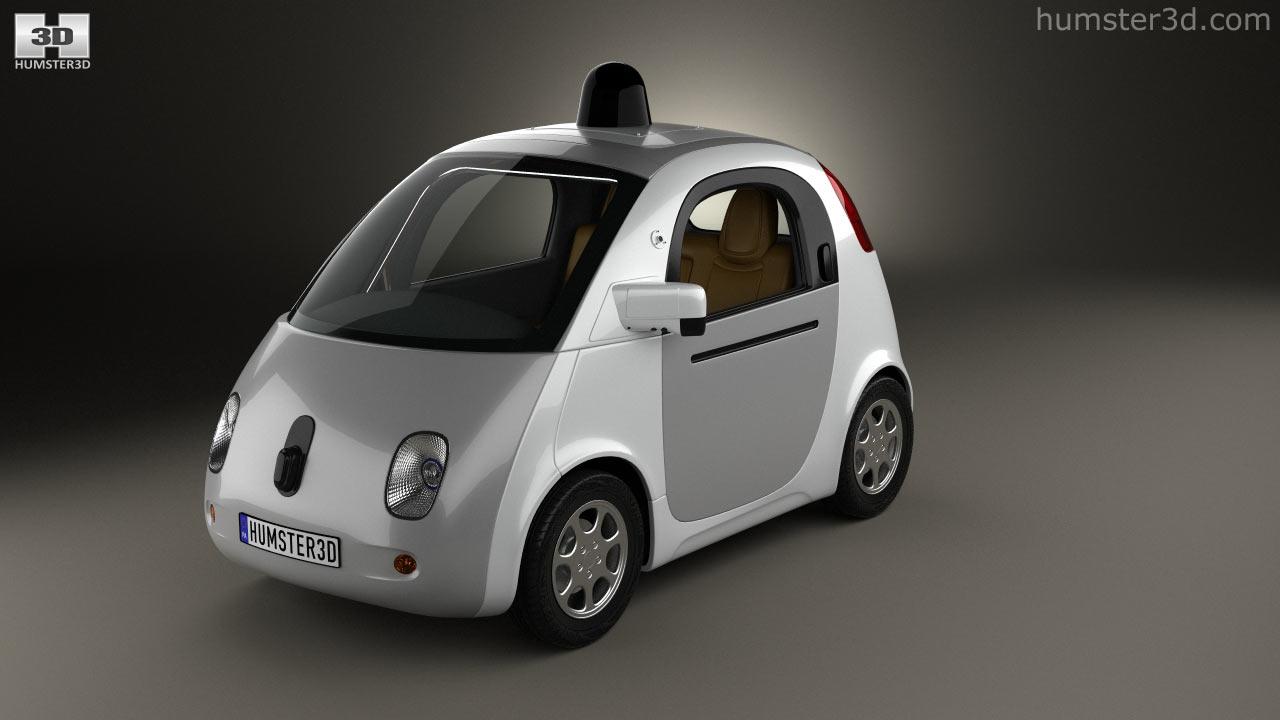 Google Self Driving Car 2017 Model