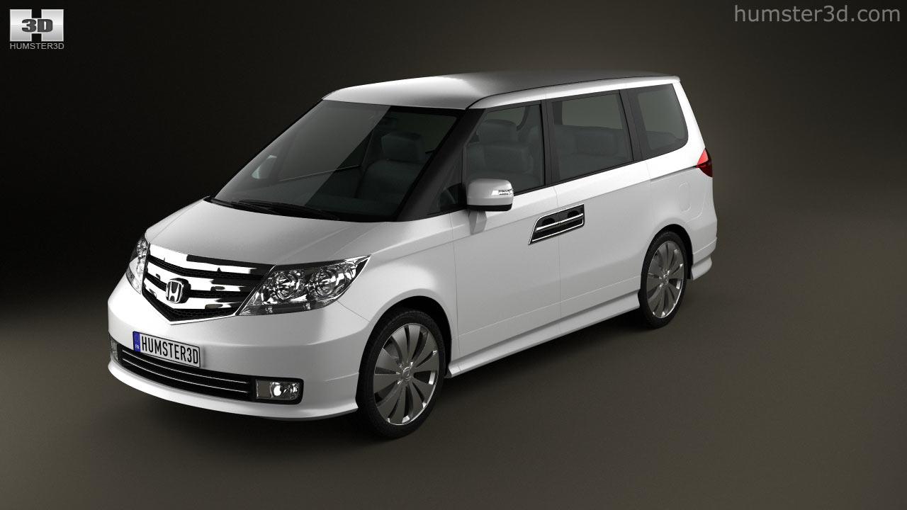 360 view of Honda Elysion 2012 3D model - Hum3D store