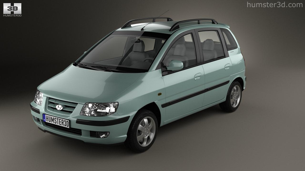 Hyundai hyundai matrix : 360 view of Hyundai Matrix (Lavita) 2001 3D model - Hum3D store