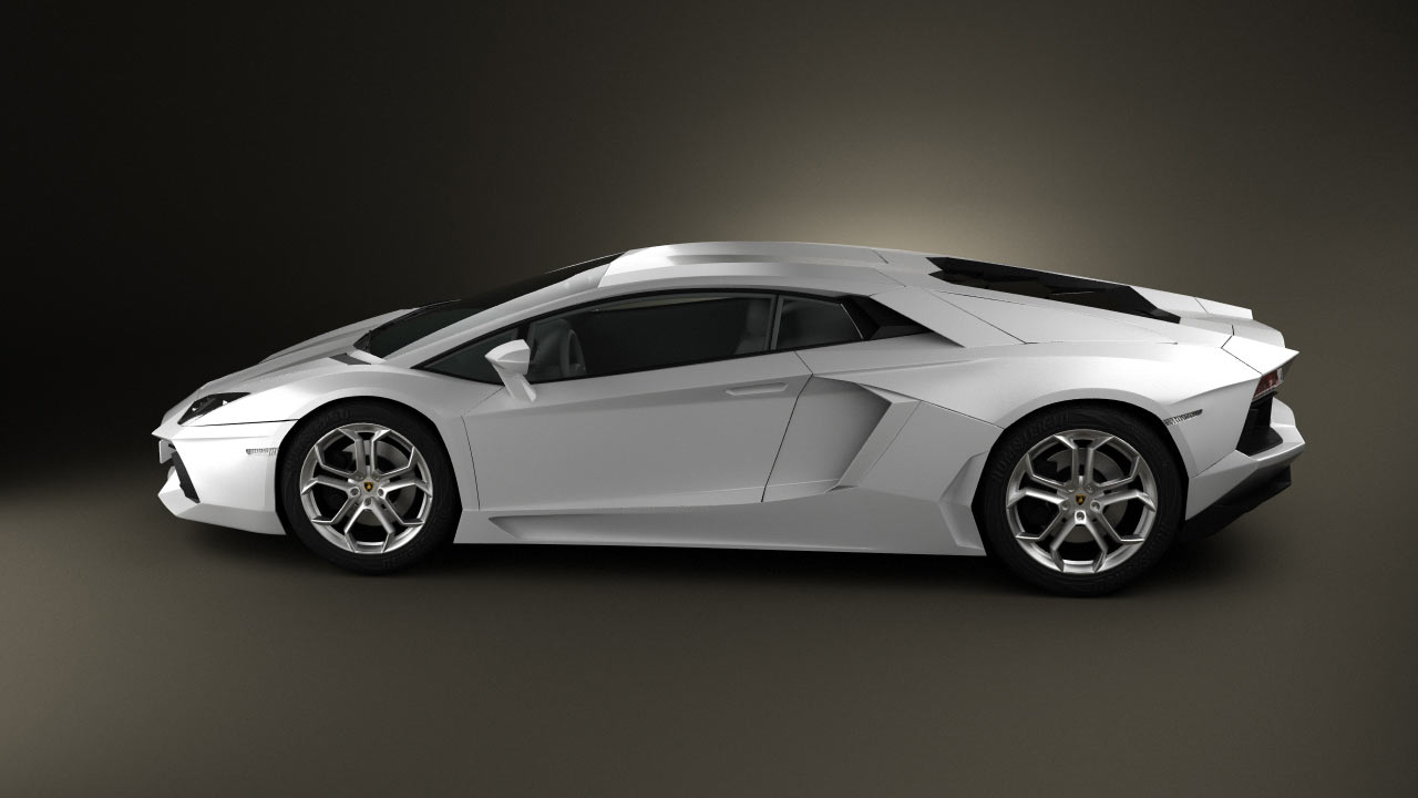 360 View Of Lamborghini Aventador 2012 3d Model Hum3d Store
