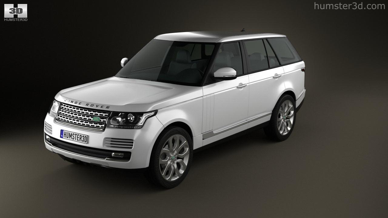 360 view of Range Rover (L405) 2014 3D model - Hum3D store