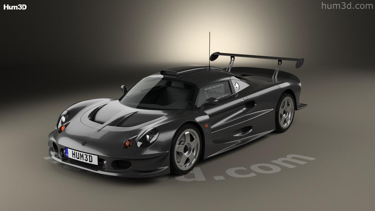 360 view of Lotus Elise GT1 1997 3D model - Hum3D store