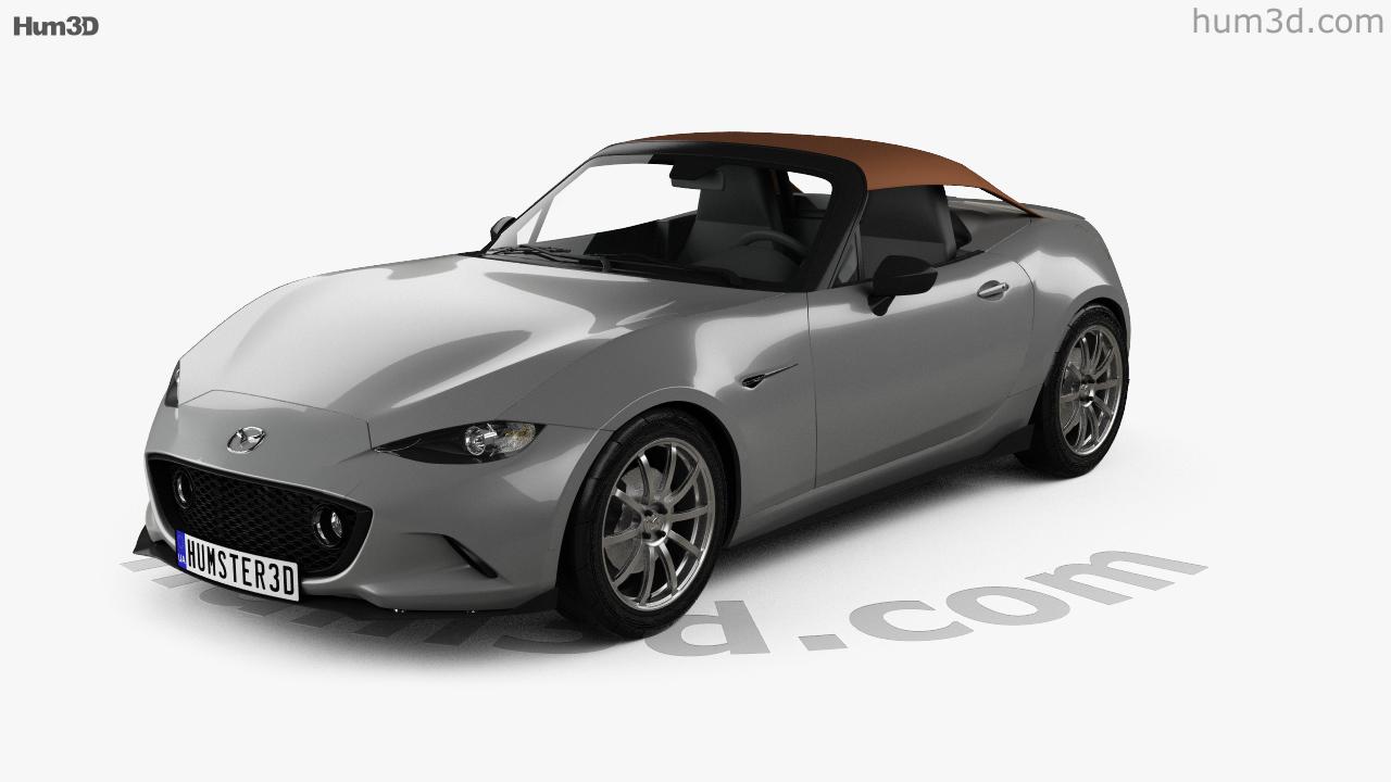 360 view of Mazda MX-5 Speedster 2015 3D model - Hum3D store