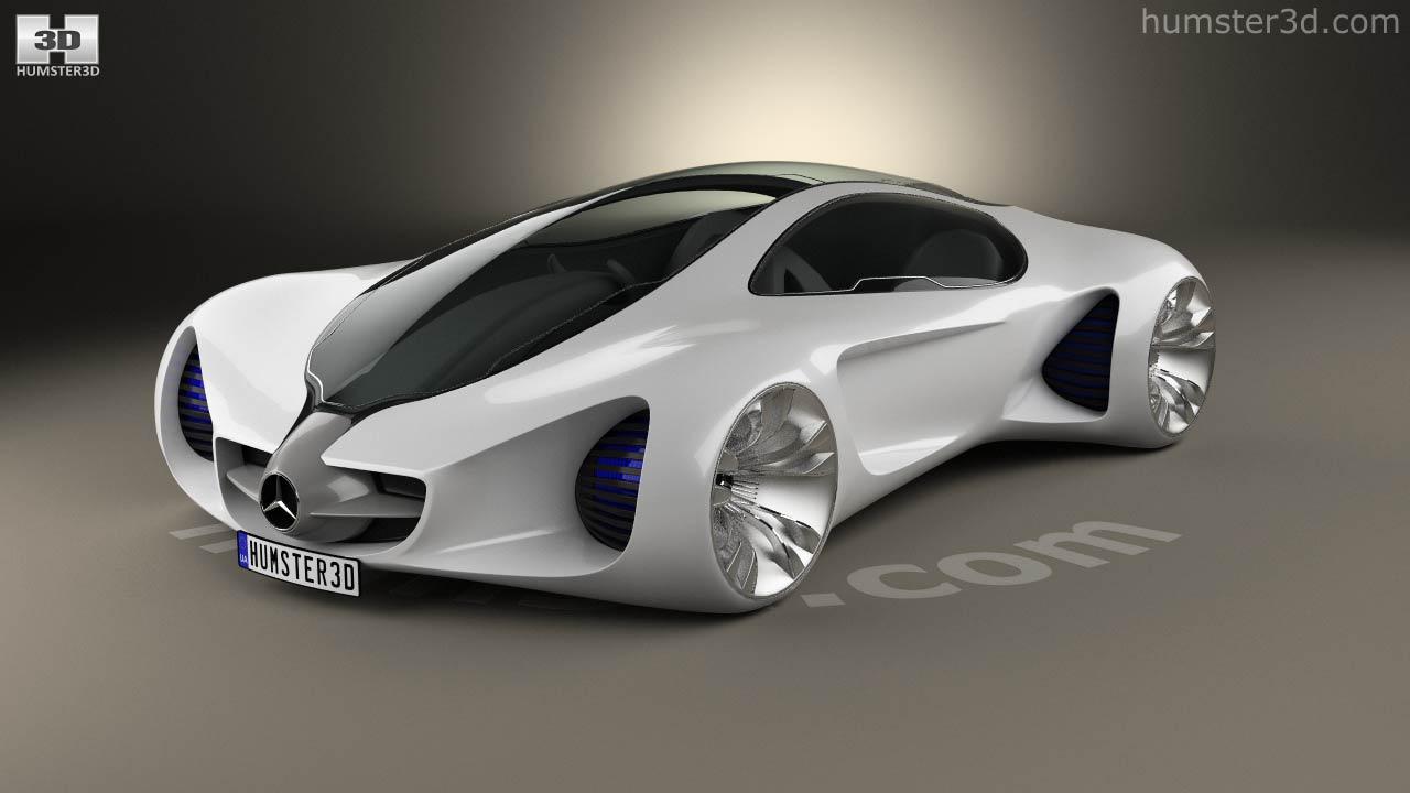 360 view of mercedes-benz biome 2010 3d model - hum3d store