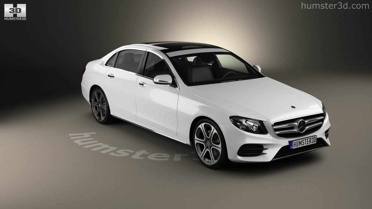 360 view of Mercedes-Benz E-Class (V213) L 2017 3D model - Hum3D store