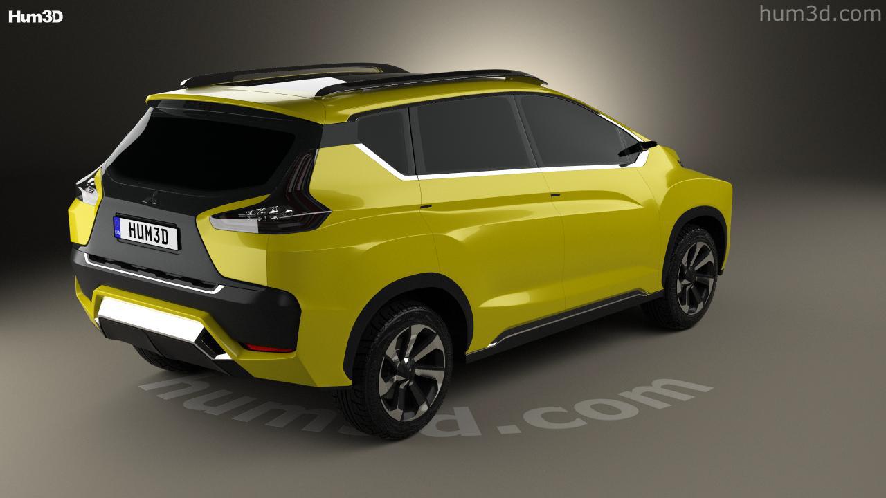 Mitsubishi XM 2016 3d Model