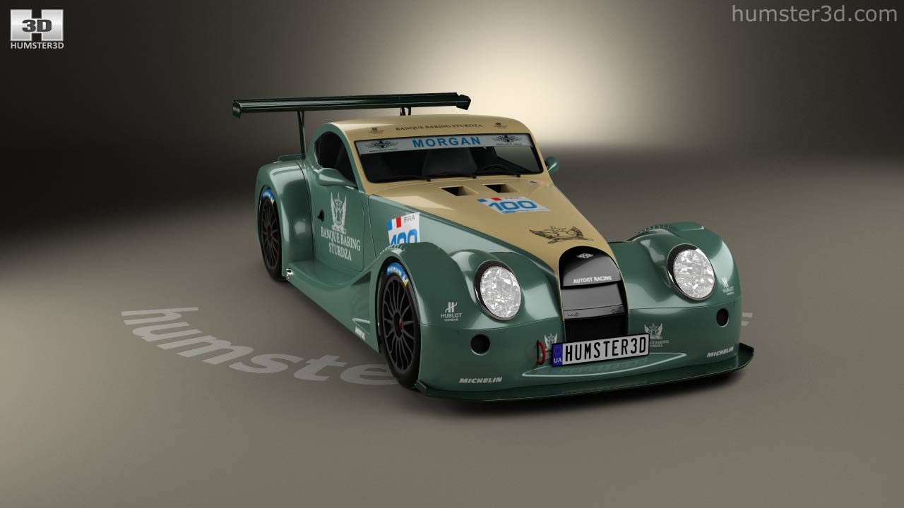 360 view of morgan aero 8 supersports gt3 2009 3d model hum3d store morgan aero 8 supersports gt3 2009 3d model vanachro Images