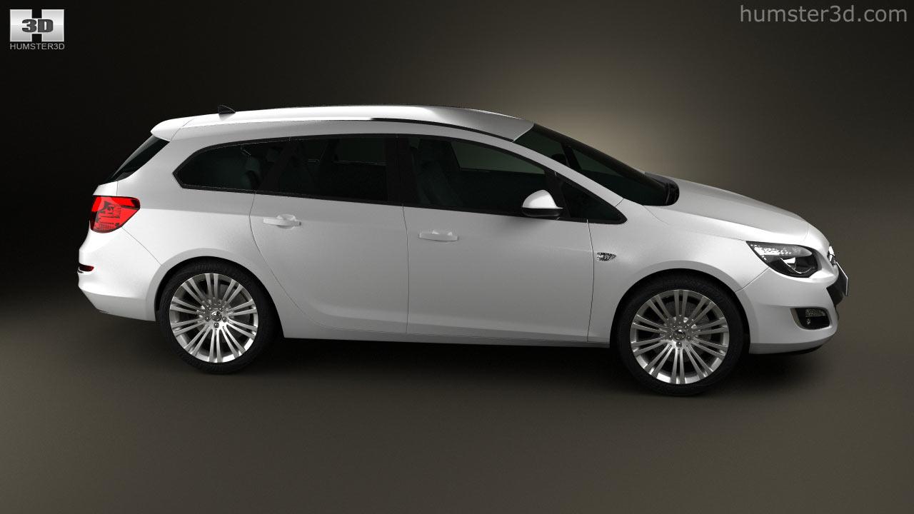 100 Opel Astra 2012 Opel Astra J Sportstourer 1 7