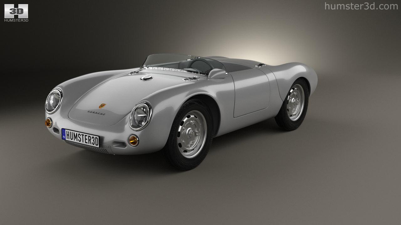 Porsche 550 Spyder 1953 Model