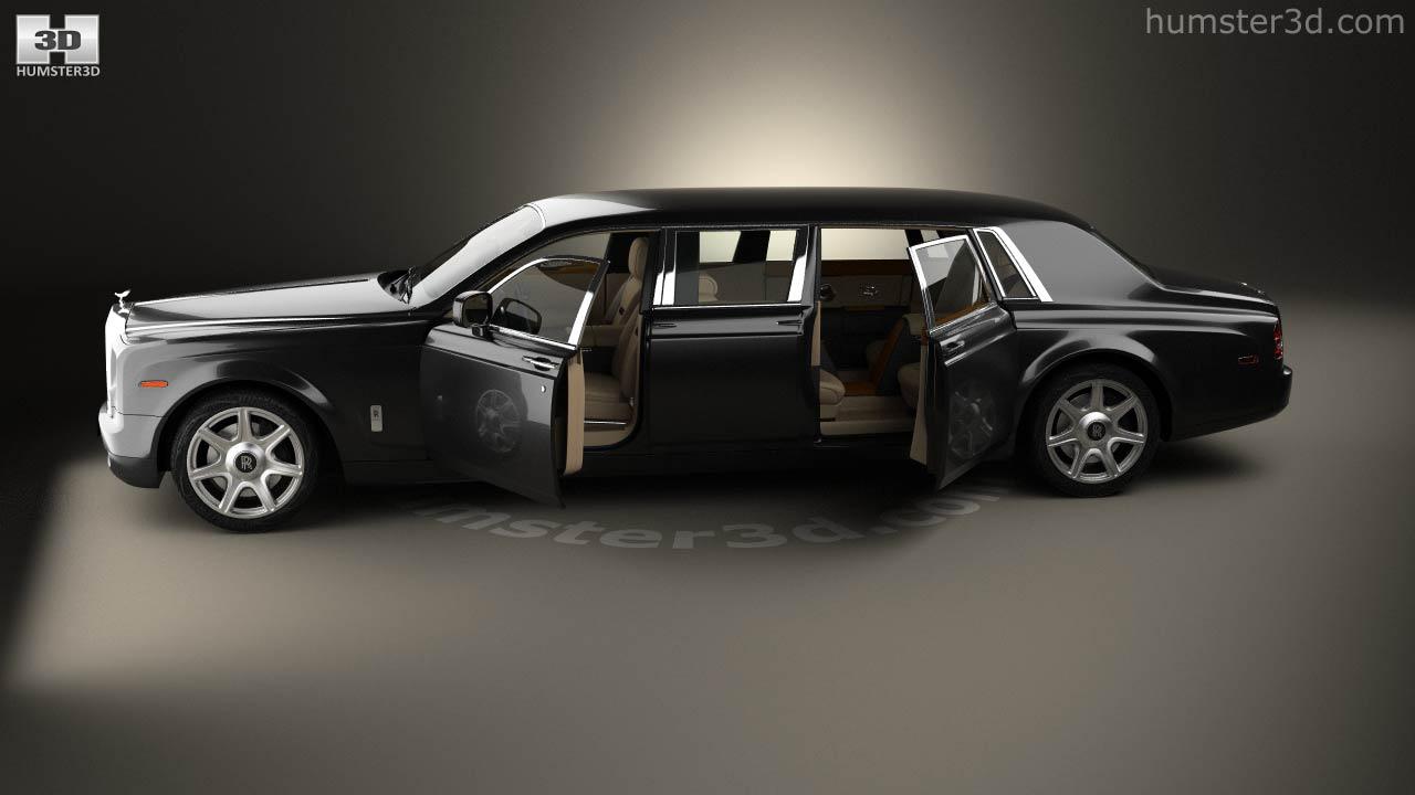 360 View Of Rolls Royce Phantom Mutec With Hq Interior 2012 3d Model Hum3d Store