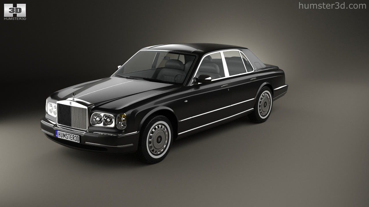 360 view of rolls-royce silver seraph 1998 3d model - hum3d store