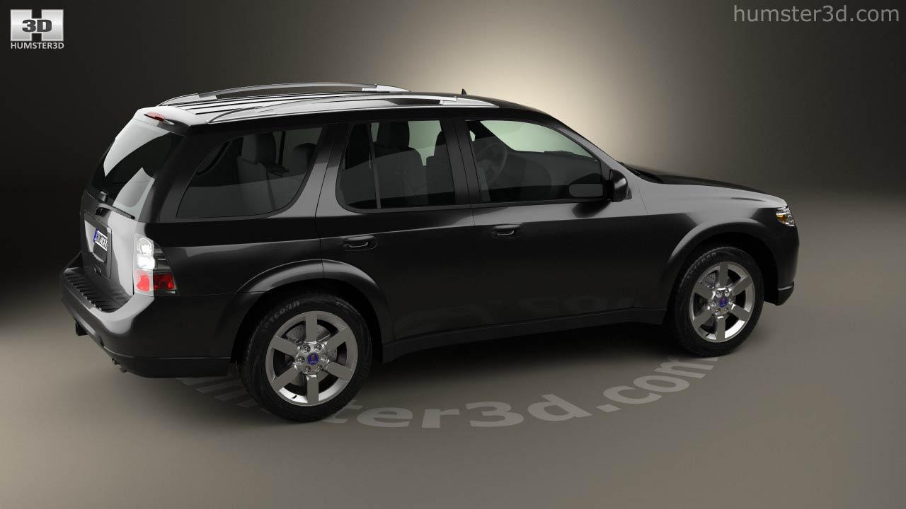 Saab saab 97x : 360 view of Saab 9-7X 2005 3D model - Hum3D store
