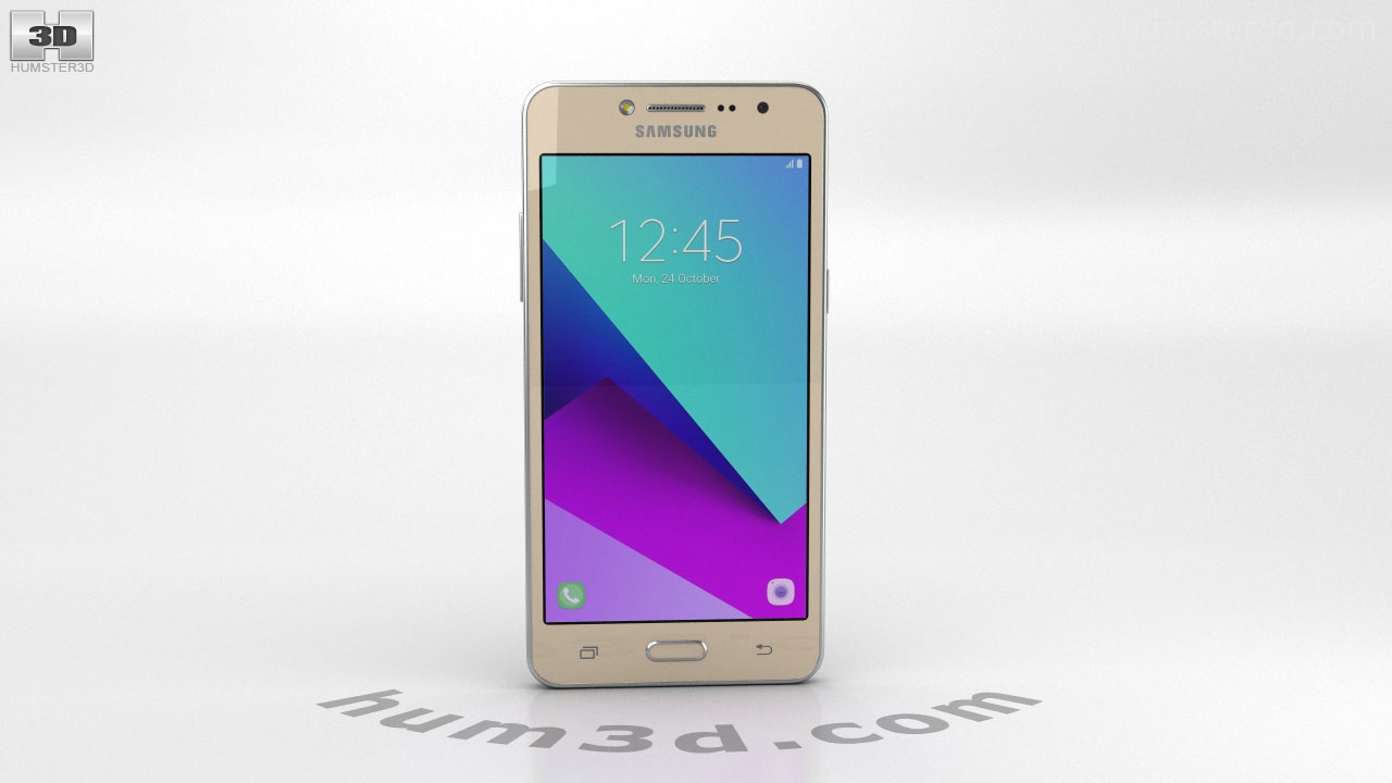 Samsung Galaxy J2 Prime Gold 3d model