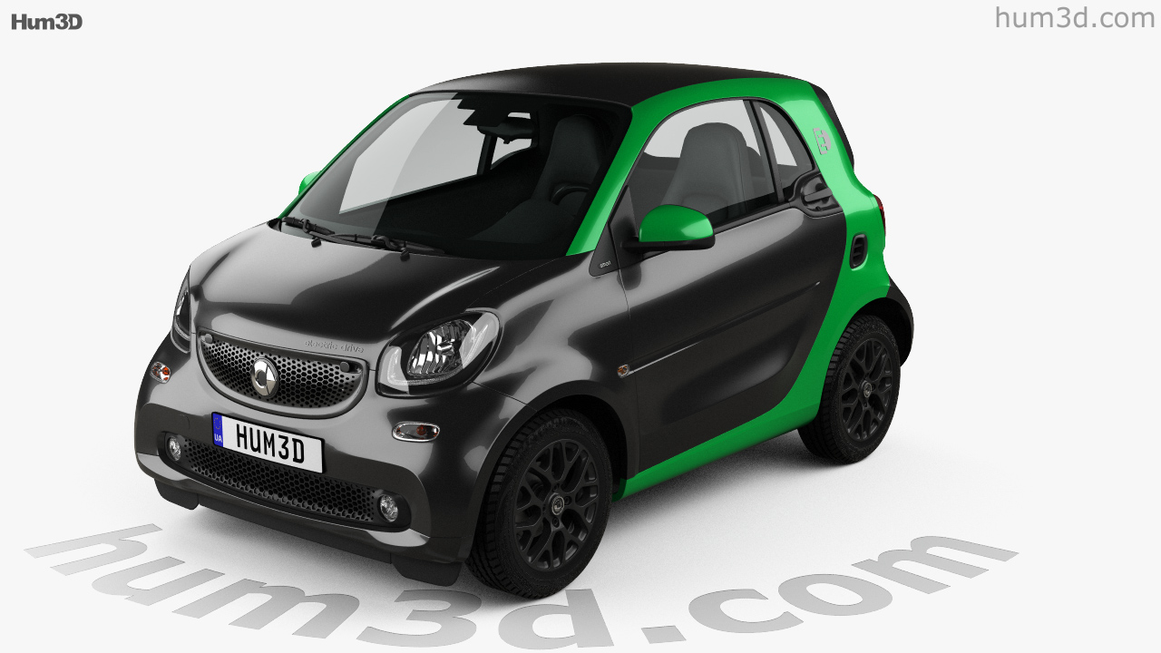 Smart Fortwo Electric Drive Coupe 2017 Model