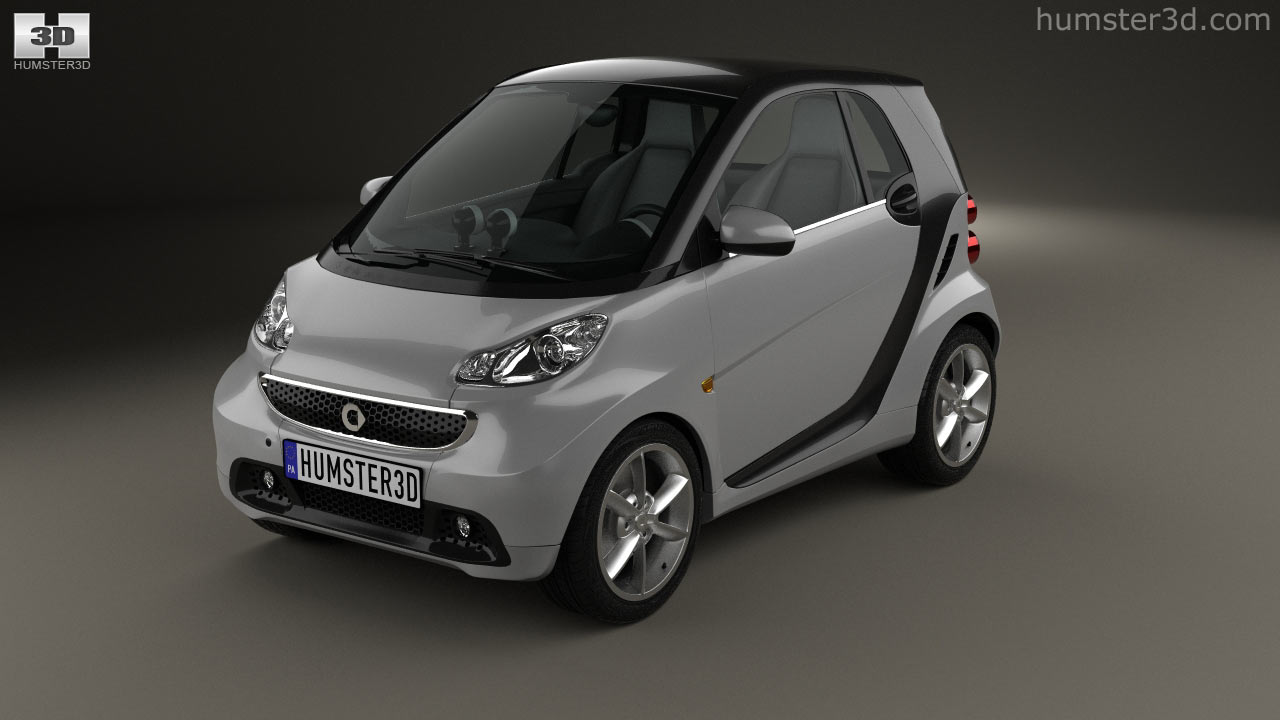 Smart Fortwo Coupe 2017 Model