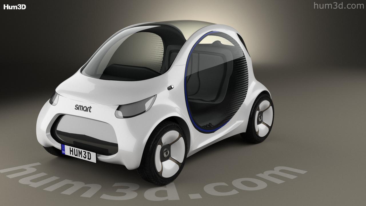 Smart Vision Eq Fortwo 2017 Model
