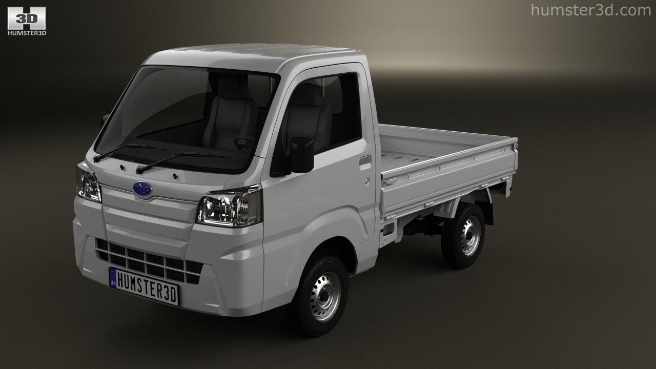 360 view of subaru sambar truck 2014 3d model hum3d store subaru sambar truck 2014 3d model vanachro Image collections