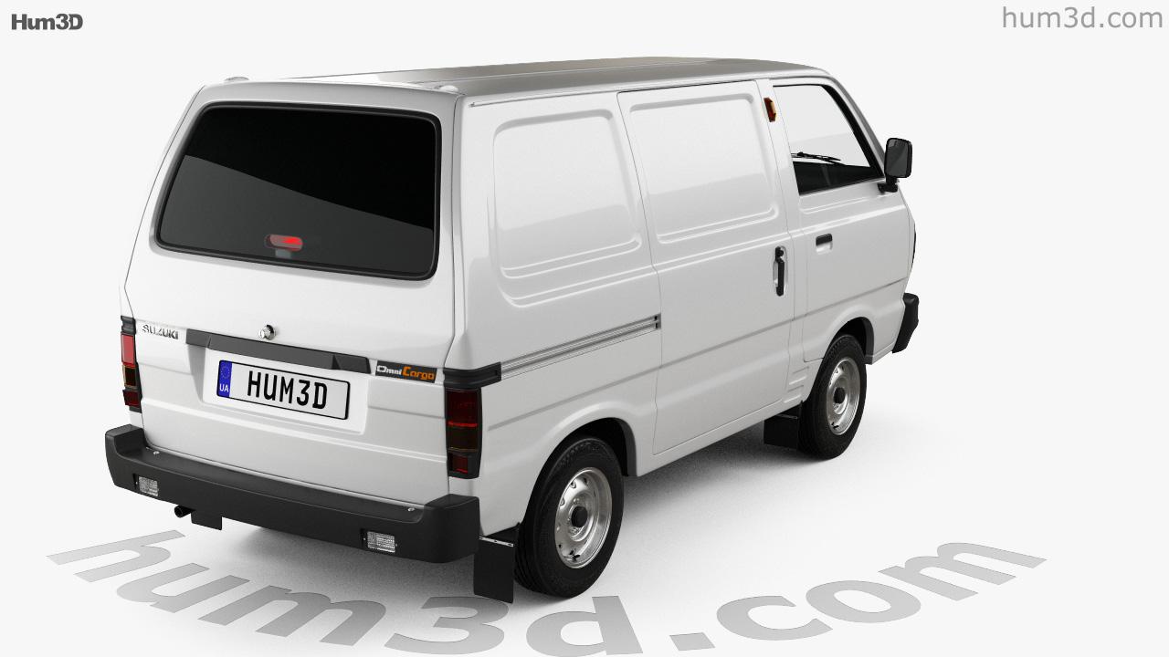 c693018f75f 360 view of Suzuki Omni Cargo Van 2016 3D model - Hum3D store