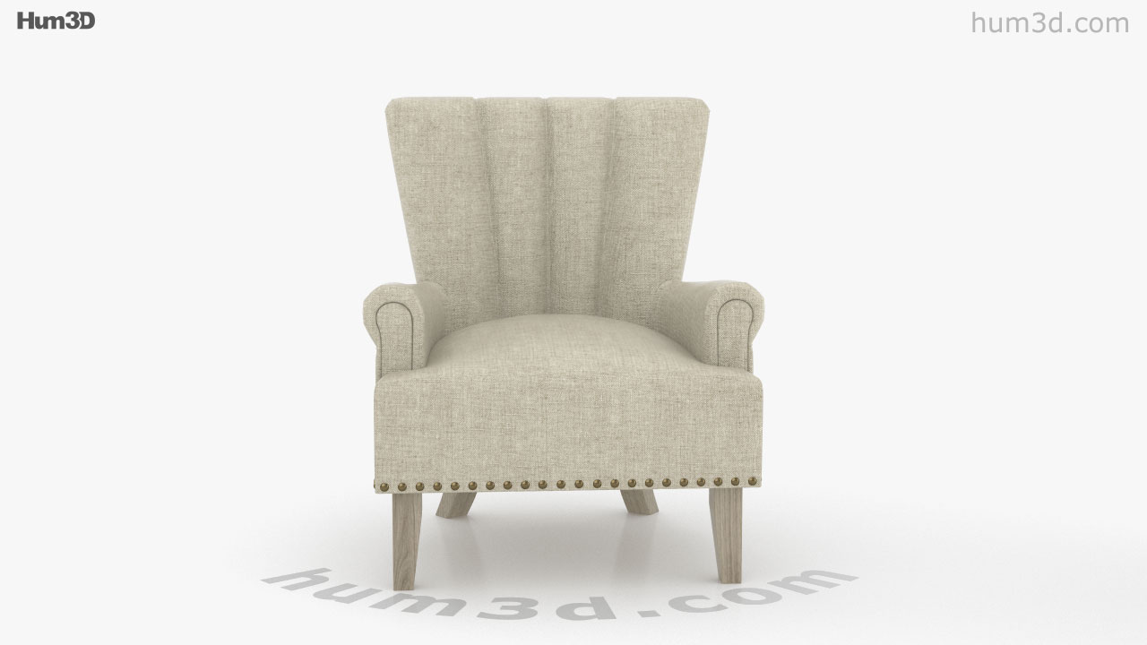 360 View Of Better Homes And Gardens Accent Chair 3d Model Hum3d Store