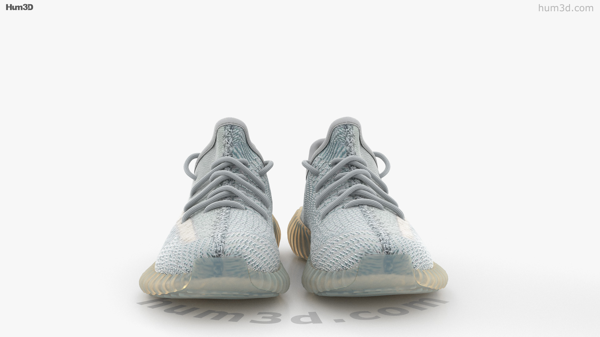 360 view of Adidas Yeezy Boost 350 3D