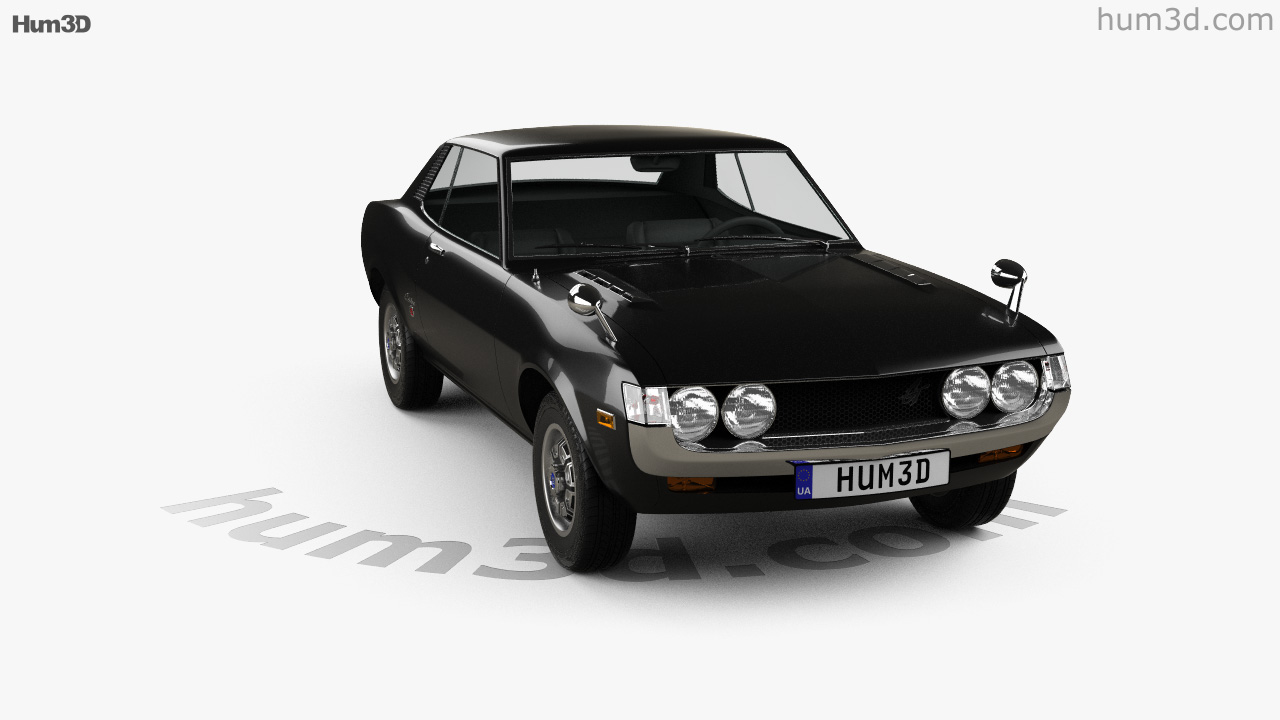 360 View Of Toyota Celica 1600 Gt Coupe 1973 3d Model Hum3d Store