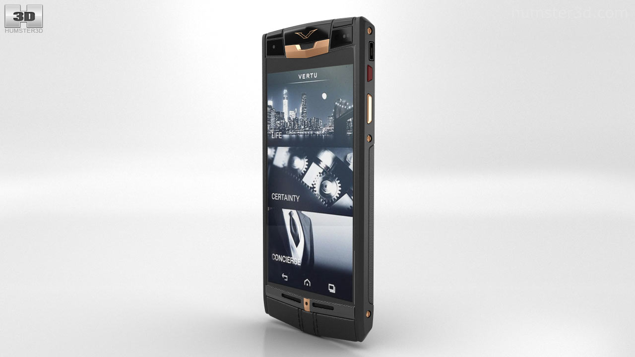 Vertu Signature Touch Pure Jet Red Gold на Snapdragon 801
