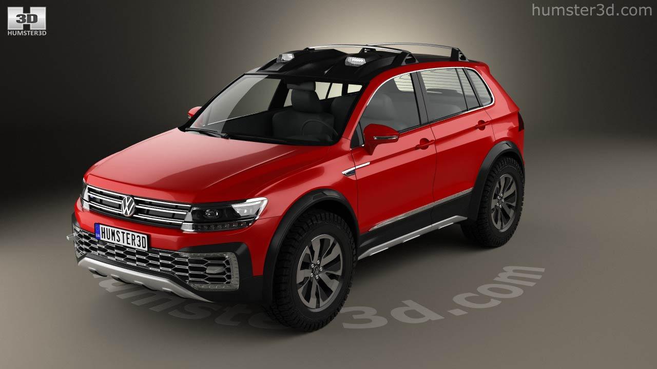 Volkswagen Tiguan Gte Active 2017 Model