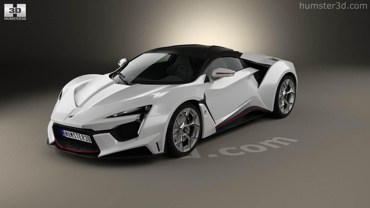 W Motors Fenyr >> 360 View Of W Motors Fenyr Supersport 2016 3d Model Hum3d Store