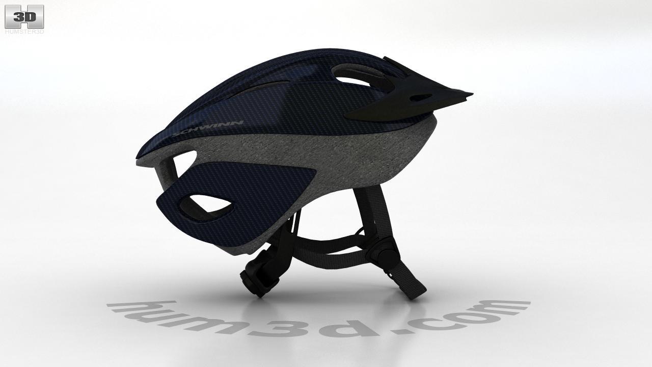 Bike Helmet 3d Model