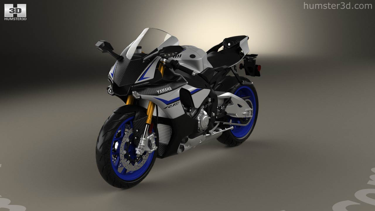 360 view of yamaha yzf r1m 2015 3d model hum3d store