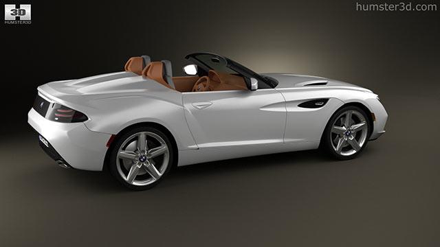 BMW Zagato Roadster 2012 3D model - Hum3D