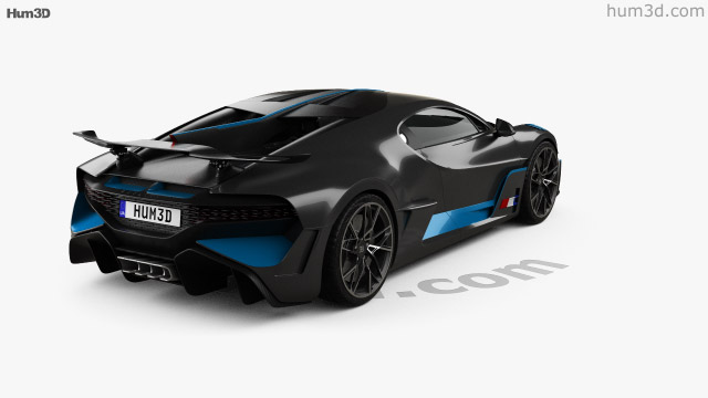 Bugatti Divo 2019 3d Model Vehicles On Hum3d
