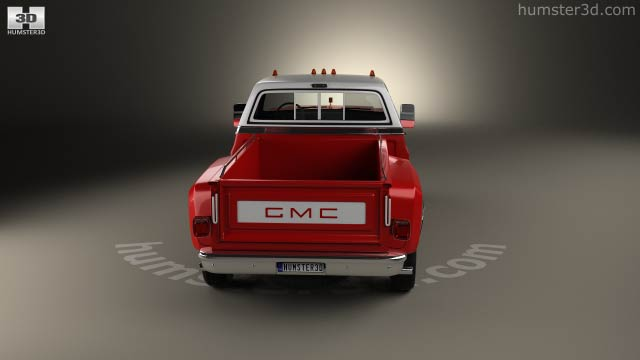 360 view of GMC Sierra Grande 454 Pickup 1979 3D model