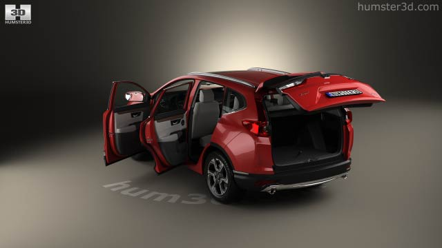 Honda Cr V Touring With Hq Interior 2017 3d Model Vehicles On Hum3d
