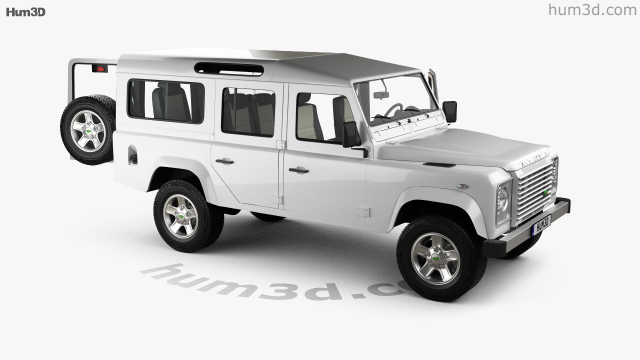 360 view of Land Rover Defender 110 Station Wagon with HQ